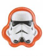 8 Assiettes tête de Stormtroopers™