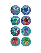 Vous aimerez aussi : 16 Mini disques en sucre Pyjamasques ™ 3,4 cm