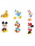 6 Figurines décoratives en sucre Mickey et ses amis™