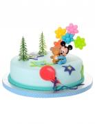4 Accessoires pour gâteau Bébé Mickey ™