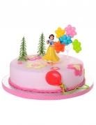 4 accessoires pour gâteau Princesses Disney ™ Blanche Neige 10 x 20,5 x 5 cm