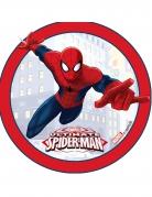 Disque effet 3D azyme Ultimate Spider-Man ™ 14,5 cm