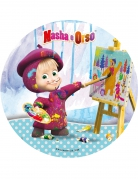 Disque en azyme Masha and Michka ™ Masha 21 cm