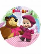 Disque azyme Masha and Michka ™ 21 cm