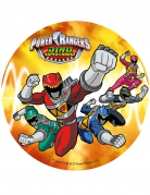 Disque orange azyme Power Rangers ™ 21 cm