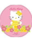 Disque rose en azyme Hello Kitty ™ 21 cm