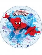 Disque blanc en azyme Ultimate Spiderman ™ 21 cm