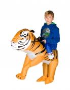 Déguisement tigre gonflable enfant