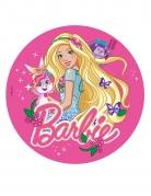 Disque azyme Barbie™ avec lapin 20 cm