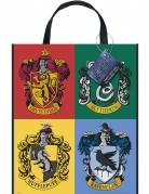 Sac cadeaux en plastique Harry Potter™ 33 x 28 cm