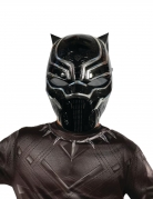 Demi-masque PVC Black Panther™ enfant