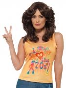 T-shirt disco I love 70's femme