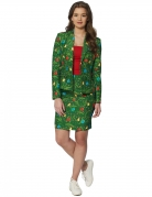 Costume Mrs. Sapin vert femme Suitmeister™