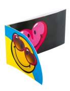 6 Cartons d'invitation Smiley World™
