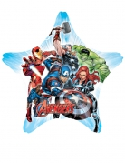 Ballon géant étoile aluminium Avengers™ 81 X 81 cm