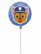 Petit ballon aluminium Chase Pat'Patrouille Emoji™ 23 cm