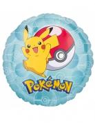 Ballon rond aluminium Pikachu Pokémon™ 43 cm