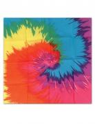 Bandana Hippie multicolore 55 x 55 cm