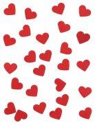 Vous aimerez aussi : Confettis en papier cœurs rouges 20 gr