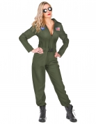 Déguisement pilote d'avion femme
