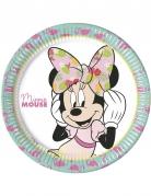 8 Assiettesen carton 23 cm Minnie™ Tropical
