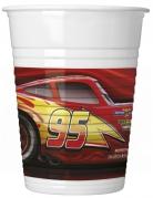 8 Gobelets en plastique Cars 3™ 200 ml