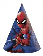 6 chapeaux de fête en carton Spiderman™