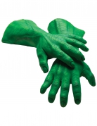 Gants géants en latex Hulk™ adulte