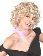 Perruque blonde années 50 femme