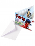 8 Cartons d'invitation Party avec enveloppes Ladybug™