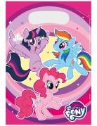 8 Sacs cadeaux My Little Pony™ 23 x 16,5 cm