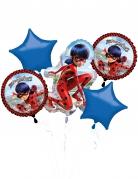Bouquet de 5 ballons aluminium Ladybug™