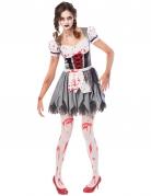Déguisement Oktoberfest zombie femme
