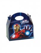 4 Boîtes en carton Avengers™ 16 x 10,5 x 16 cm