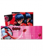 6 Cartons d'invitation avec enveloppes Ladybug™