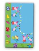 Nappe en plastique Peppa Pig™ 120 x 180 cm