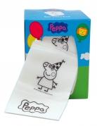 Porte-serviette en carton avec serviettes Peppa Pig™