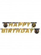 Guirlande Happy Birthday Avengers Infinity War™ 2 m x 16 cm