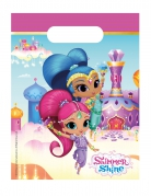 6 Sacs cadeaux Shimmer and Shine™ 23 x 16,5 cm