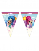 Guirlande 9 fanions Shimmer and Shine™ 230 x 25 cm