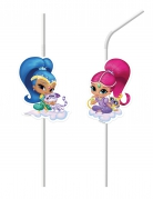 6 Pailles médaillons Shimmer and Shine™