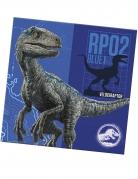 20 Serviettes en papier Jurassic World 2™ 33 x 33 cm