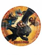 Vous aimerez aussi : 8 Assiettes en carton Dragons™ 23 cm