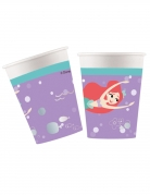 8 Gobelets en carton premium Ariel™ 260 ml