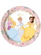 8 Assiettes en carton premium Princesses Disney™ 23 cm