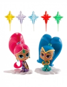 Kit de décoration Shimmer and Shine™ 8 cm
