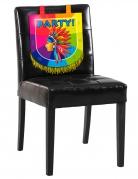 Décoration pour chaise en carton Indien 38 x 34 cm