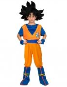 Coffret déguisement avec perruque Goku Dragon Ball™ enfant
