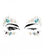 Bijoux pour visage adhésifs reine adulte
