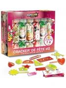 12 Crackers de fête pour enfants 14 x 18 x 6 cm